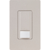 Lutron 5-Amp Maestro Taupe Combination Occupancy Decorator Light Switch