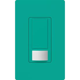 Lutron Maestro 1-Switch 5-Amp 3-Way Double Pole Turquoise Indoor Motion Occupancy/Vacancy Sensor
