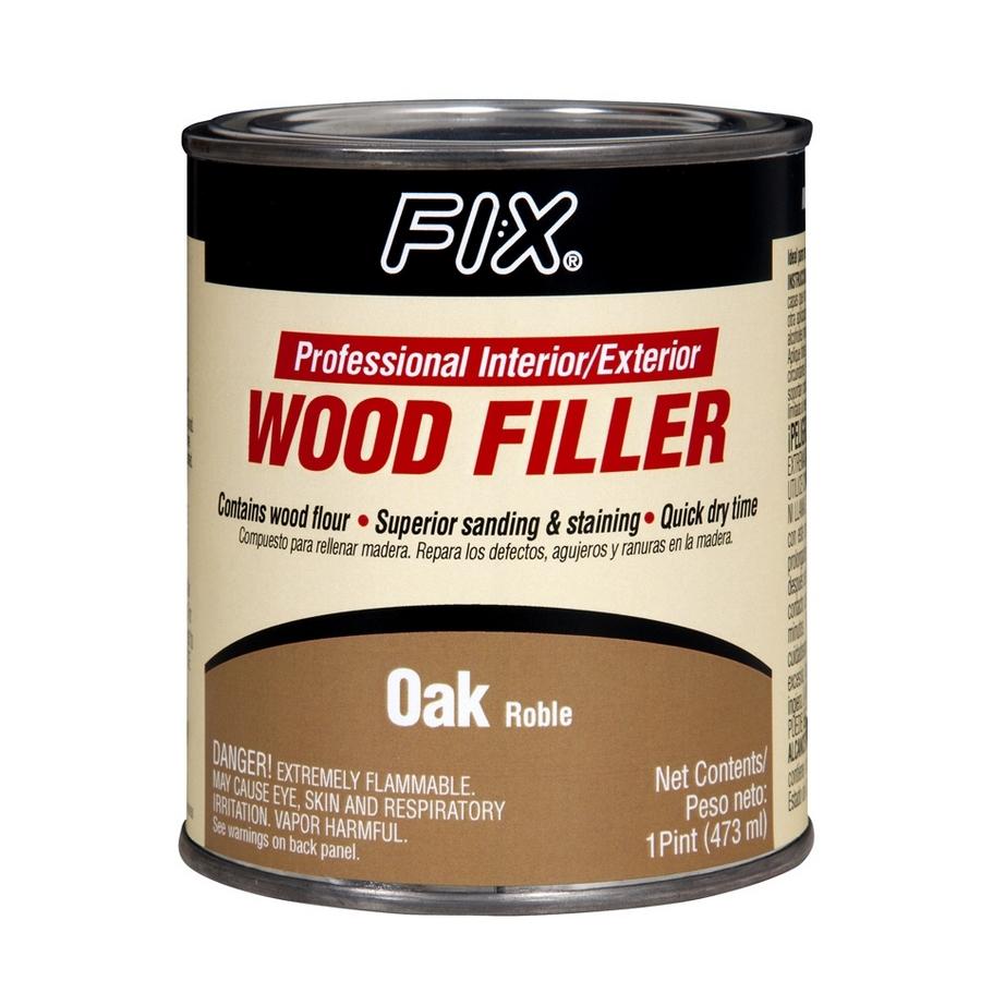 Shop Pl Fi X 16 Oz Wood Filler Oak At