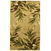 allen + roth 23-in x 39-in Rectangular Beige Floral Accent Rug