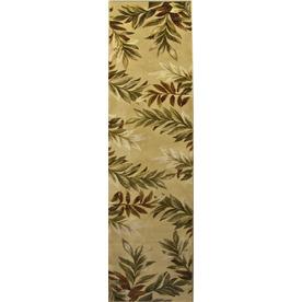 allen + roth Breezy Cream Rectangular Indoor Woven Nature Runner (Common: 2 x 8; Actual: 23-in W x 89-in L)