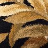 allen + roth Breezy Black Rectangular Indoor Woven Nature Throw Rug (Common: 2 x 3; Actual: 23-in W x 39-in L)