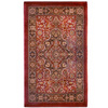 Orian Rugs Shakespeare 23-in x 39-in Rectangular Red Floral Accent Rug