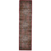 Orian Rugs Shakespeare 23-in W x 7-ft 5-in L Red Runner