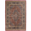 Orian Rugs Shakespeare 63-in x 90-in Rectangular Red/Pink Floral Area Rug