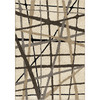 allen + roth Carolina Fleece 47-in x 65-in Rectangular Cream/Beige/Almond Geometric Area Rug