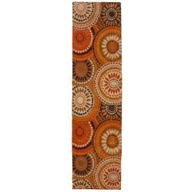 Orian Rugs Merrified Orange Rectangular Indoor Woven Runner (Common: 2 x 8; Actual: 23-in W x 89-in L)