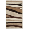 Orian Rugs Sculptured Elegance 23-in x 39-in Rectangular Beige Transitional Accent Rug