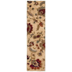 allen + roth Cliffony Cream Rectangular Indoor Woven Runner (Common: 2 x 8; Actual: 23-in W x 89-in L)