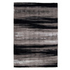 Orian Rugs Kyoto Black Rectangular Indoor Woven Area Rug (Common: 5 x 8; Actual: 63-in W x 90-in L)