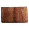 Orian Rugs Combo Red Rectangular Indoor Woven Throw Rug (Common: 2 x 4; Actual: 23-in W x 39-in L)