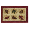 Orian Rugs Harvest 19-in x 29-in Rectangular Red Accent Rug