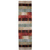 Orian Rugs Fading Panel 23-in W x 89-in L Multicolor Runner