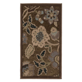 Orian Rugs Stokely 22-in x 39-in Rectangular Tan Accent Rug