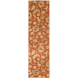 allen + roth Rowley Red Woven Runner (Common: 2-ft x 8-ft; Actual: 1.916-ft x 7.416-ft)