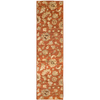allen + roth Heritage 23-in W x 89-in L Orange/Peach/Apricot Runner