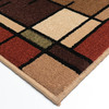 allen + roth Addington Brown Rectangular Indoor Woven Throw Rug (Common: 2 x 3; Actual: 23-in W x 39-in L)