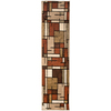 allen + roth Addington Brown Rectangular Indoor Woven Runner (Common: 2 x 8; Actual: 23-in W x 89-in L)
