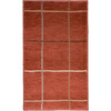 allen + roth Heritage 23-in x 39-in Rectangular Red/Pink Transitional Accent Rug