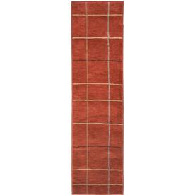 allen + roth Ramsey Red Rectangular Indoor Woven Runner (Common: 2 x 8; Actual: 23-in W x 89-in L)