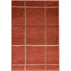 allen + roth Ramsey Red Rectangular Indoor Woven Area Rug (Common: 8 x 10; Actual: 94-in W x 120-in L)