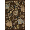 Orian Rugs Riggby Brown Rectangular Indoor Woven Area Rug (Common: 5 x 8; Actual: 61-in W x 90-in L)