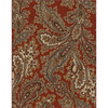 allen + roth Mansfield Red Rectangular Indoor Woven Area Rug (Common: 8 x 10; Actual: 94-in W x 120-in L)