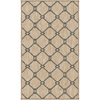 allen + roth Collingtree Cream Rectangular Indoor Woven Throw Rug (Common: 2 x 3; Actual: 23-in W x 39-in L)