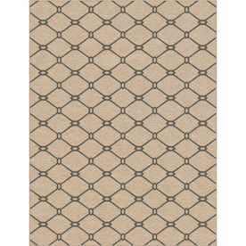 allen + roth Collingtree Cream Rectangular Indoor Woven Area Rug (Common: 10 x 13; Actual: 120-in W x 157-in L)
