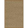 Orian Rugs Quarterfoil Brown Rectangular Indoor Woven Area Rug (Common: 5 x 8; Actual: 61-in W x 90-in L)