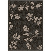 Orian Rugs Floral Spa Gray Rectangular Indoor Woven Area Rug (Common: 5 x 8; Actual: 61-in W x 90-in L)