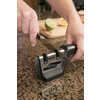 Smith's Black Pull-Thru Knife & Scissors Sharpener