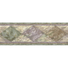 allen + roth 6.83-in Green Prepasted Wallpaper Border