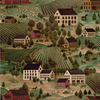 allen + roth Green Peelable Vinyl Prepasted Classic Wallpaper