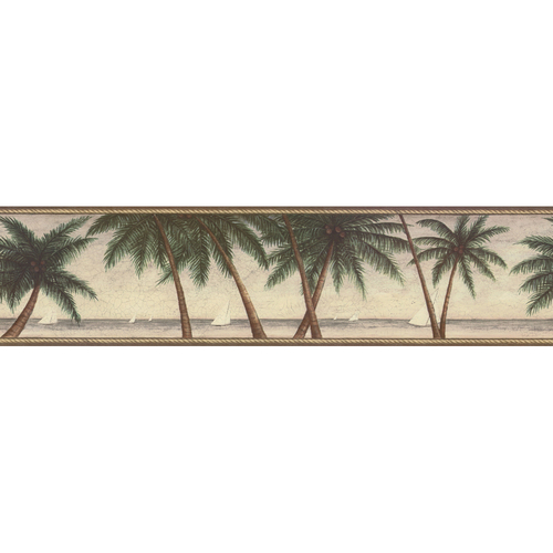palm tree wallpaper border. Palm Tree Wallpaper Border