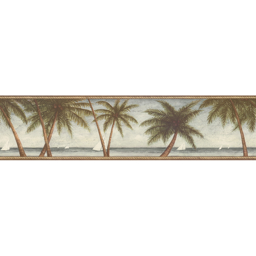 palm tree wallpaper border. Saying Wallpaper Border