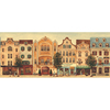 allen + roth 8.5-in Yellow Prepasted Wallpaper Border