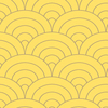 allen + roth Yellow Strippable Paper Prepasted Wallpaper
