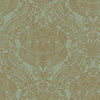 allen + roth Metallic Strippable Non-Woven Paper Prepasted Classic Wallpaper
