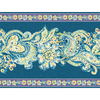 allen + roth 20.5-in Blue Prepasted Wallpaper Border