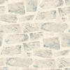 allen + roth Gray Peelable Vinyl Prepasted Wallpaper