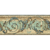 allen + roth 8.25-in Blue Prepasted Wallpaper Border