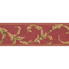 allen + roth 6.83-in Red Prepasted Wallpaper Border