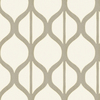 allen + roth Gray Strippable Non-Woven Paper Prepasted Wallpaper