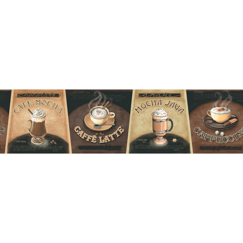 cars wallpaper border. allen + roth Neutral Specialty Coffee Wallpaper Border$17$17