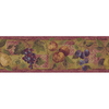 allen + roth 8-in Red Prepasted Wallpaper Border