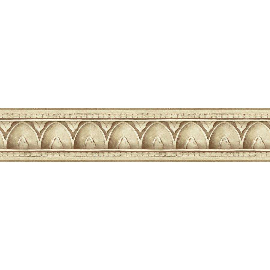 shop allen roth 4 1 8 beige architectural molding