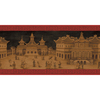 allen + roth 10.25-in Red Prepasted Wallpaper Border