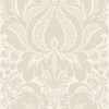 allen + roth Gray Strippable Non-Woven Paper Prepasted Classic Wallpaper