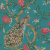allen + roth Blue Strippable Paper Prepasted Wallpaper